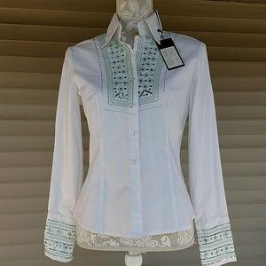Katherine Barclay blouse. Size S